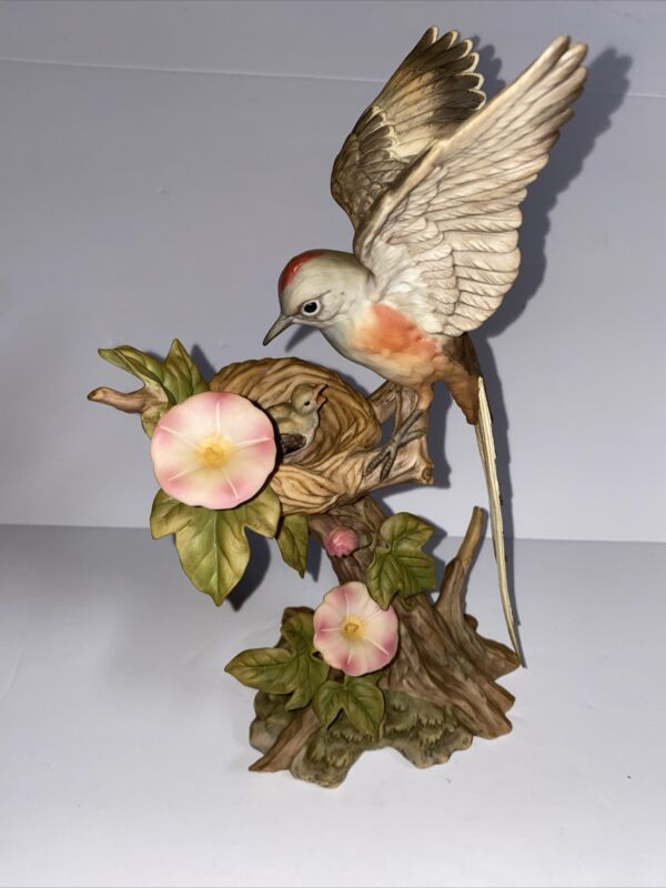 HOMCO HOME INTERIORS NATURES BEAUTY FIGURINE SCISSORTAIL FLYCATCHER RARE Mint