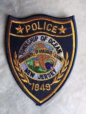 """Township of Ocean Police Patch - New Jersey - 4"""" x 5"""""""