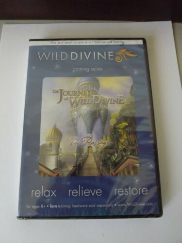 JOURNEY TO WILD DIVINE THE PASSAGE 2010 SOFTWARE SEALED NEW