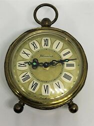 Vintage Blessings West Germany watch Alarm Clock Working - Desk Table Clock