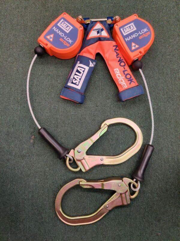 DBI SALA - 3500227 - Nano-lok Edge - Twin Leg - Retracting Safety - NEW!