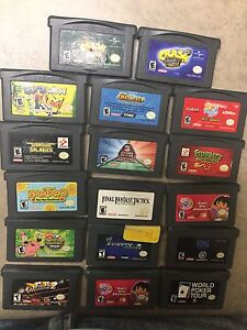 Nintendo Gameboy Advance Games!