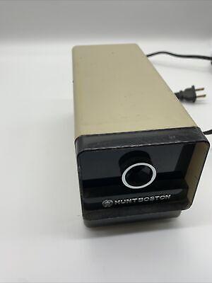 Hunt Boston Model 17 296a Electric Desktop Pencil Sharpener