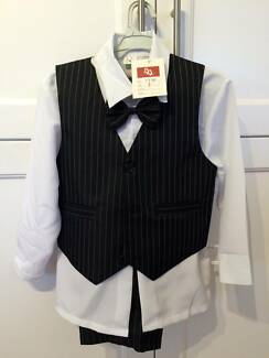 Brand New Boys 4 piece suit - Size 2 - unwanted gift West Pennant Hills The Hills District Preview