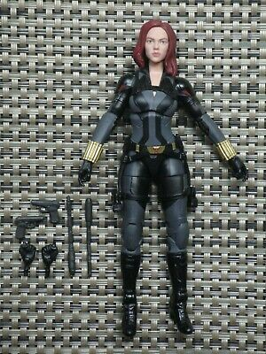 Marvel Legends Black Widow action figure Crimson Dynamo BAF series
