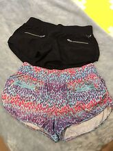 Lorna Jane gym/running shorts x 2 size medium Gilmore Tuggeranong Preview