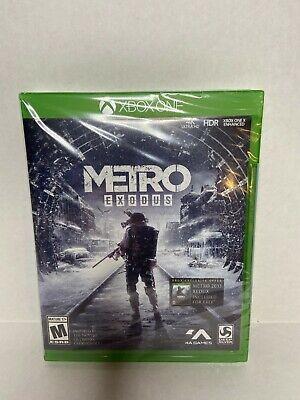 Metro Exodus Microsoft Xbox One Brand New Sealed Xbox One X Enhanced