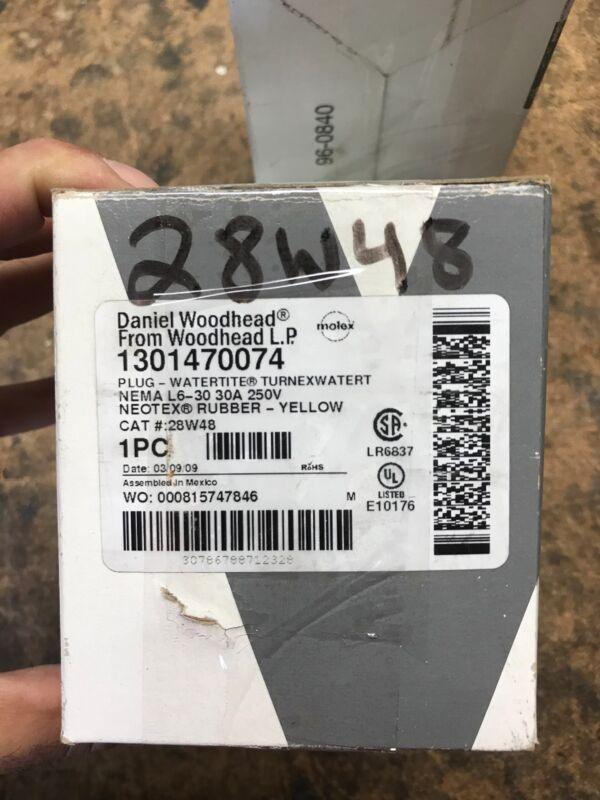 Woodhead/Molex 28W48;nema L6-30;Plug