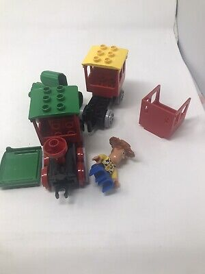 Lego DUPLO Toy Story 5659 The Great Train Chase Woody INCOMPLETE