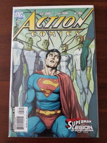 Action Comics #861 Superman DC Comics NM Johns & Sibal Combined Gemini Ship