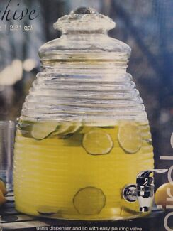 Glass drink dispenser - Beehive shape Lane Cove Lane Cove Area Preview