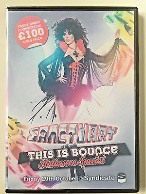 Sanctuary This is Bounce Halloween Special 4xCD pack bouncy scouse house donk. (Halloween Music This Is Halloween)