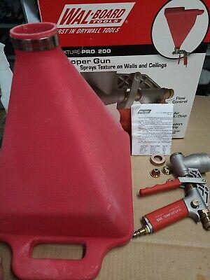 Wal-board- Texture Pro 200 Paint Hopper Gun Sprayer Professional Texture Tool