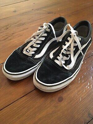 Vans Old Skool Classic Black White Size 8