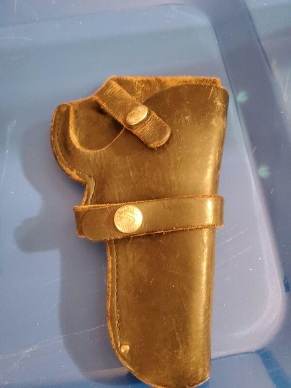 Bucheimer Gun Holster Leather Vintage