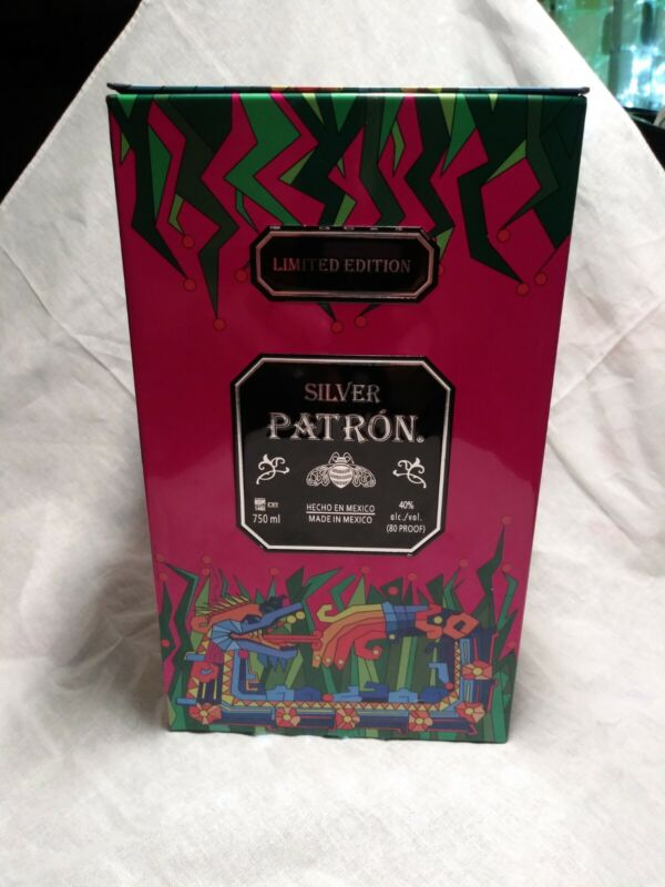 Silver Patron Tequila Limited Edition Collector