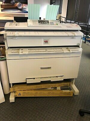 Ricoh Aficio 240w Wide Format Printer Plotter Scanner