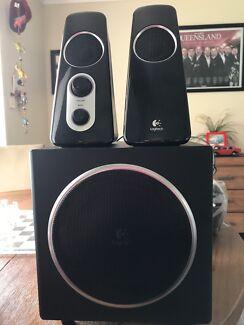 Logitech computer sound system