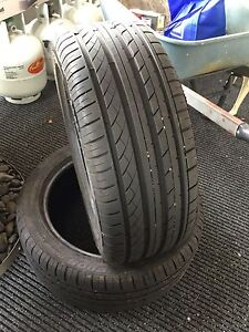 Tyres 245/45R18 pair, almost new Two Wells Mallala Area Preview