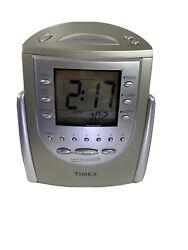 Timex T-309T Nature Sounds AM/FM Radio Large Display Alarm Clock Sleep Buzzer