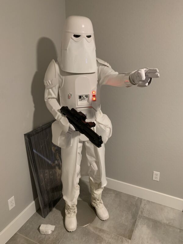 Lifesize Star Wars The Empire Strikes Back Snowtrooper Snow Trooper Over 6