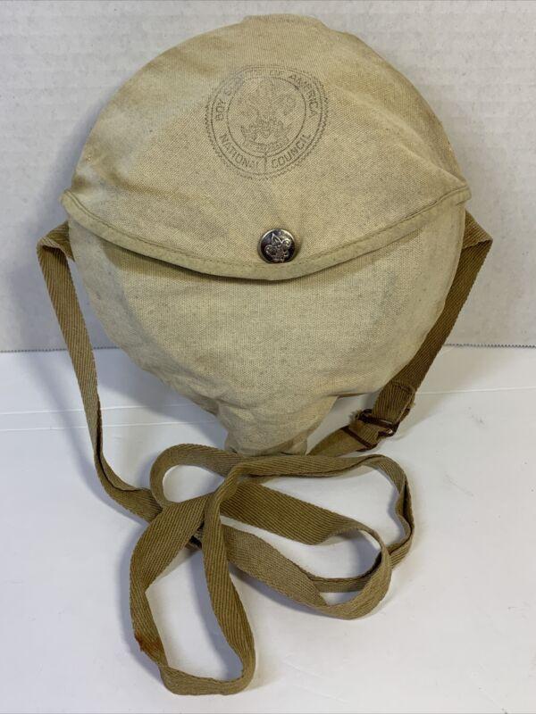 Vintage BSA Boy Scouts Metal Mess Kit Cooking Set Dish Pot