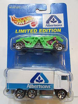Hot Wheels 1997 Albertsons Dragon     Hiway Hauler 2 Car Pack
