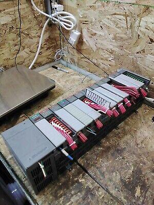 Allen Bradley 1746-p2 Slc 500 Power Supply W Base 7 Input 4 Output 1 Modules