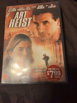 Art Heist Dvd