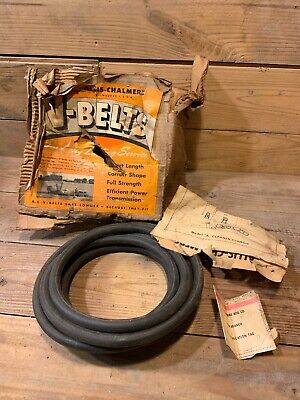 Nos Allis Chalmers Gleaner Combine 1112234 Belt Model A V Pull Type Round 12 In