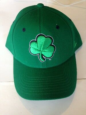 463d5ce02225b Notre Dame Fighting Irish Zephyr Fitted hat 7 3 8 Green