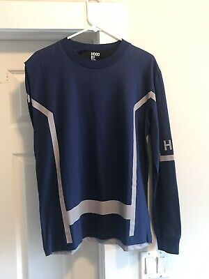 BRAND NEW W/ TAGS! Hood By Air One Sleeve Royal Blue Long Sleeve, Size Sm, RARE!
