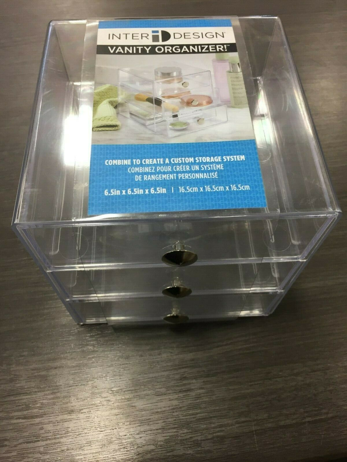 InterDesign Drawers Clear 6.5 cube