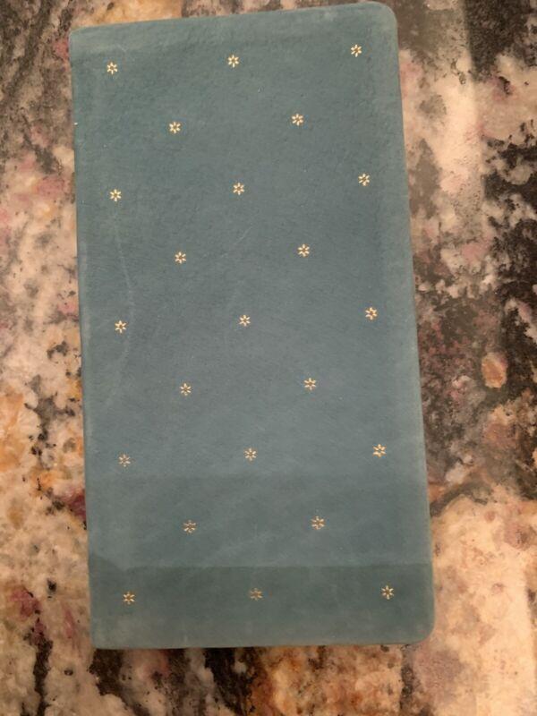 Vintage Michael Graves Leather Green Star1991 Calendar Pocket Planner book