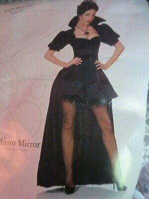 ELVIRA Mistress of the Dark Adult Costume Halloween Witch Wizard Size M NEW