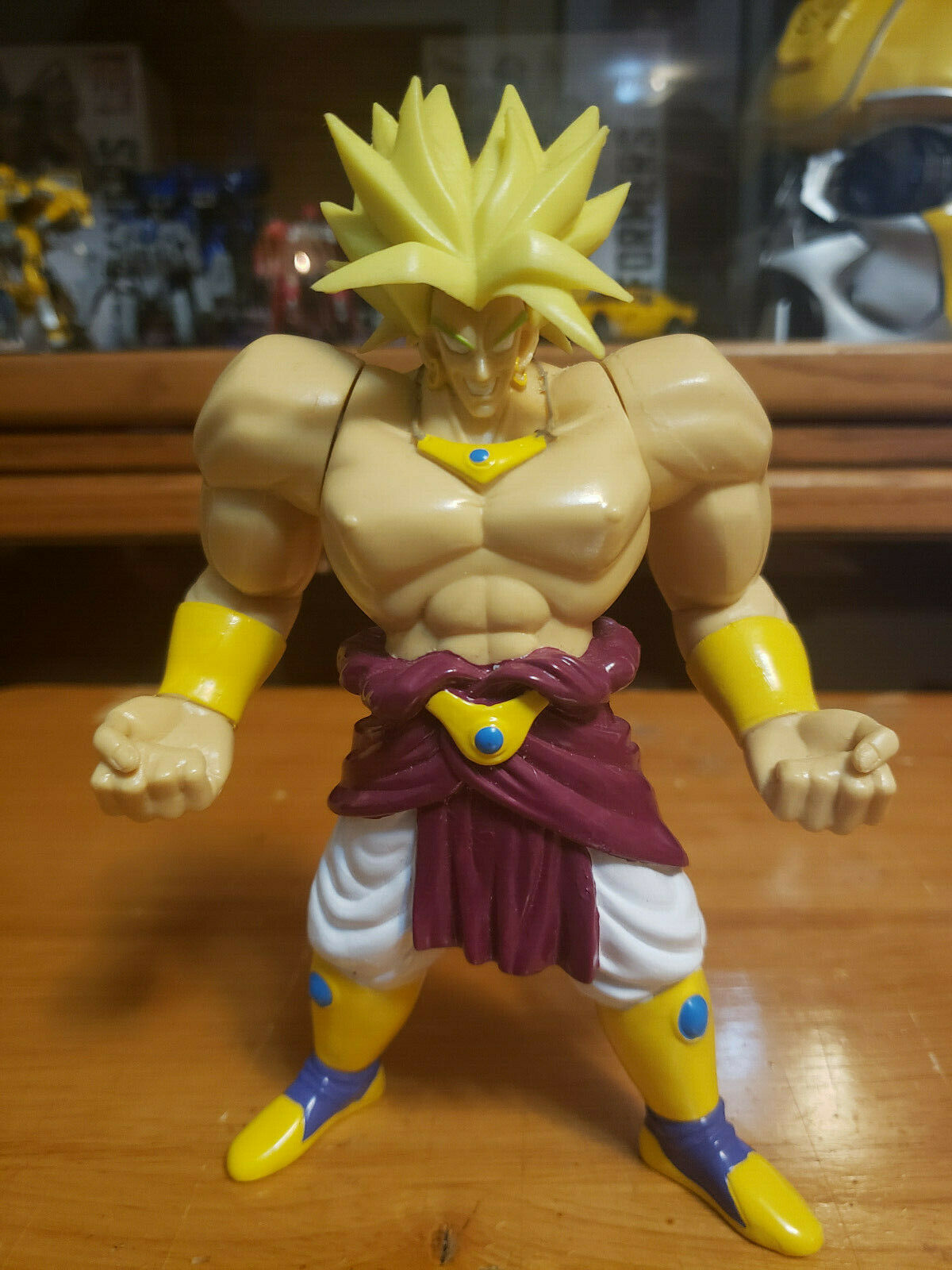 Character:Broly Vol 10:BANDAI Dragonball Z  and Dragon Ball GT super battle collection AB Toys & Irwin