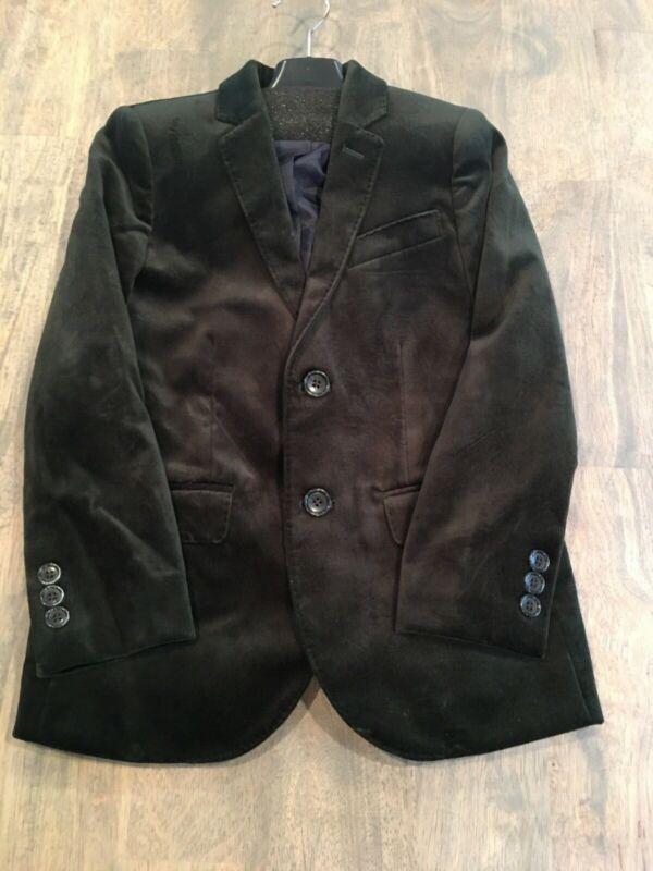 crewcuts velvet blazer green size 7