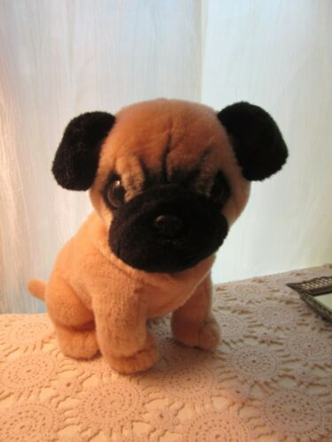 Aurora World Plush PUG Dog Toy Designed in United Kingdom