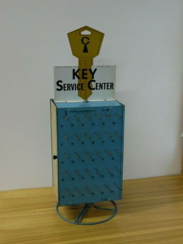 Curtis Locksmith Key Blank Display Holder 1960s Ford 1970s GM