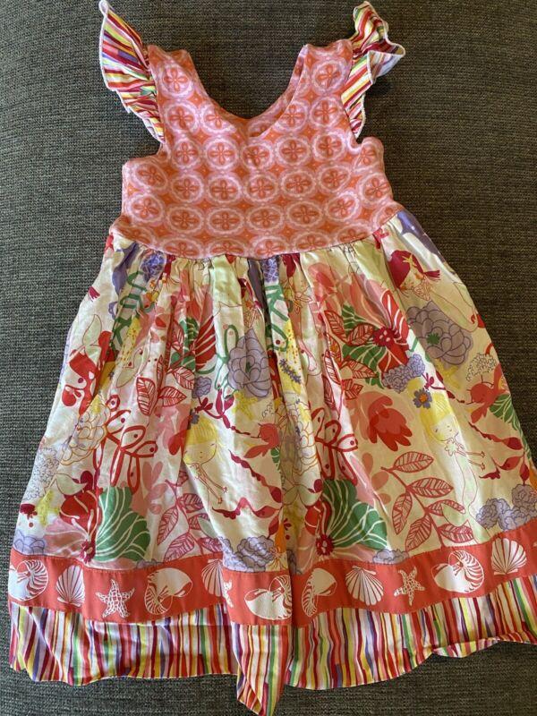 Vivienne's Grace Boutique Girls 2T Mermaid Dress
