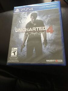 UNCHARTED  FOR PS4-sealed Windsor Region Ontario image 1