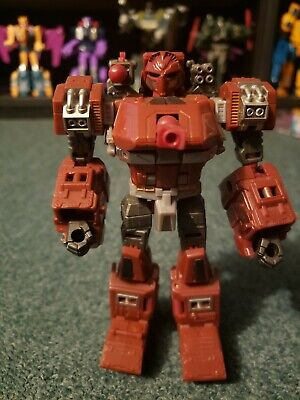 2010 Transformers Generations G1 Universe Classics Warpath Complete Tank Missile