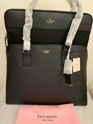 NWT Kate Spade Cameron Street Marybeth Large Tote Laptop Bag Black Original Pack