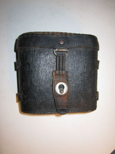 VINTAGE PAIR OF BINOCULARS--MADE IN GERMANY--LEATHER CASE WITH STRAP