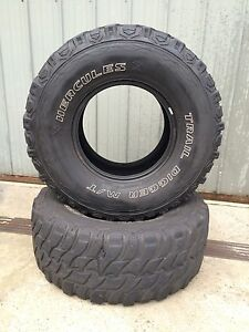 Hercules M/T tyres 33x12.50 r15 tyres Meadow Heights Hume Area Preview