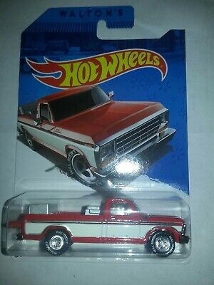 2015 hot wheels walmart exclusive 1979 ford f-150 truck with Real Riders