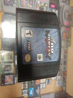 """""""WWF"""" no mercy for Nintendo N64 - Tested & Works"""