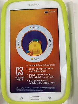 Samsung Galaxy Kids Tab E Lite SM-T113 8GB, Wi-Fi, 7in - White