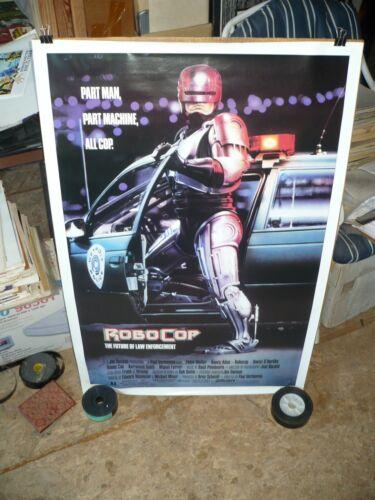 ROBOCOP, orig rolled 1-sht / movie poster [Peter Weller] - 1987