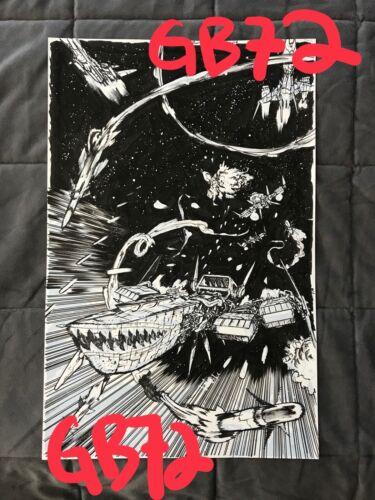 Original Cover Art DANIEL WARREN JOHNSON Weatherman 5 wonder woman dead earth 1
